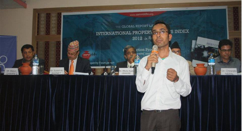 Surath Giri talks on IPRI