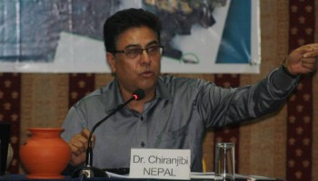 Chiranjibi Nepal on IPRI 2011