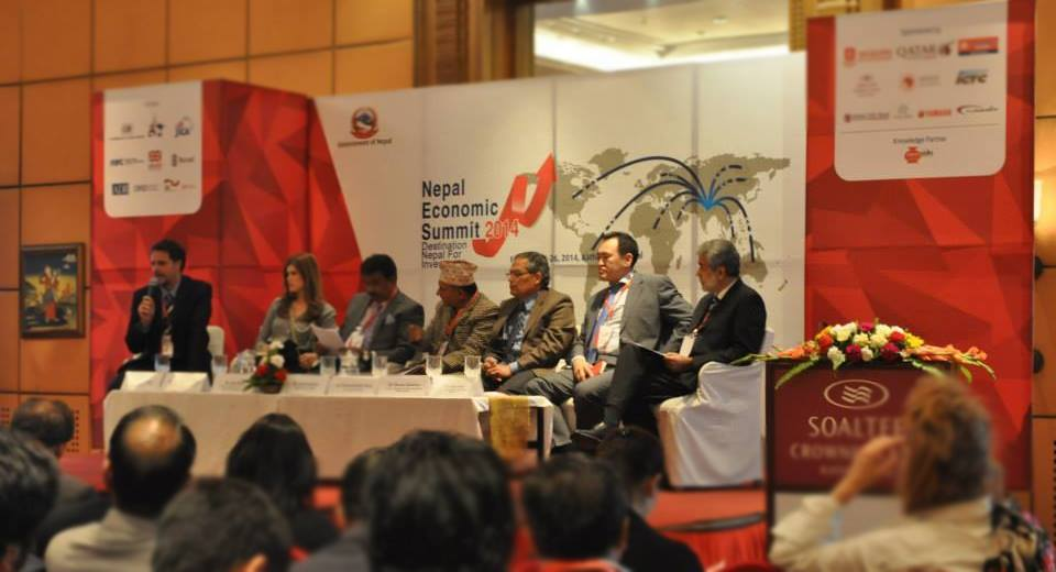 Panel on Tourism on NES 2014 Chaired by Tourism Secretary