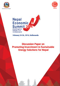 Nepal Economic Summit - Energy Paper