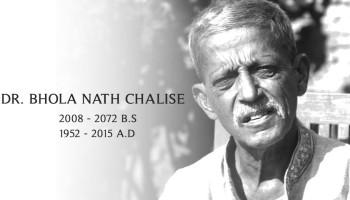 Dr. Bhola Nath Chalise