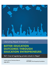 cost of registering a private school in nepal