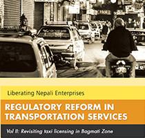 regulatory reform in transportation services