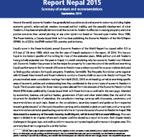 Country Audit Report Summary