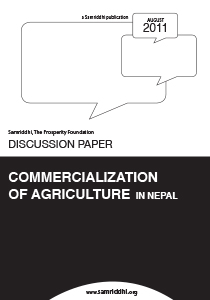 Commercialization of Agriculture in Nepal |